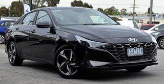 2020 Hyundai i30 CN7.V1 MY21 Active Phantom Black 6 Speed Sports Automatic Sedan.