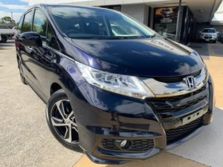2017 Honda Odyssey RC MY17 VTi-L Blue 7 Speed Constant Variable Wagon.
