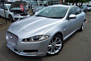 2011 Jaguar XF X250 MY12 Premium Luxury Silver 8 Speed Sports Automatic Sedan.