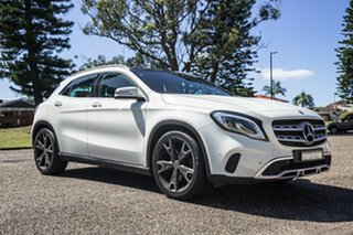 2017 Mercedes-Benz GLA-Class X156 808MY GLA250 DCT 4MATIC Cirrus White 7 Speed.