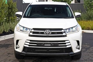 2017 Toyota Kluger White Wagon