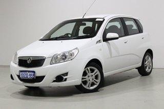 2010 Holden Barina TK MY10 White 4 Speed Automatic Hatchback.