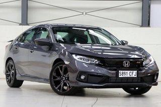 2020 Honda Civic 10th Gen MY20 RS Modern Steel 1 Speed Constant Variable Sedan.