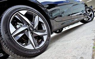 2020 Hyundai i30 CN7.V1 MY21 Active Phantom Black 6 Speed Sports Automatic Sedan