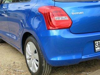 2018 Suzuki Swift AZ GL Navigator Blue 1 Speed Constant Variable Hatchback