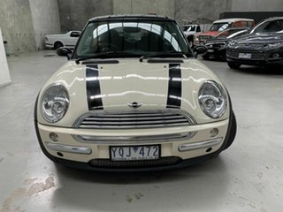 2004 Mini Hatch R50 MY05 Cooper White 5 Speed Manual Hatchback.