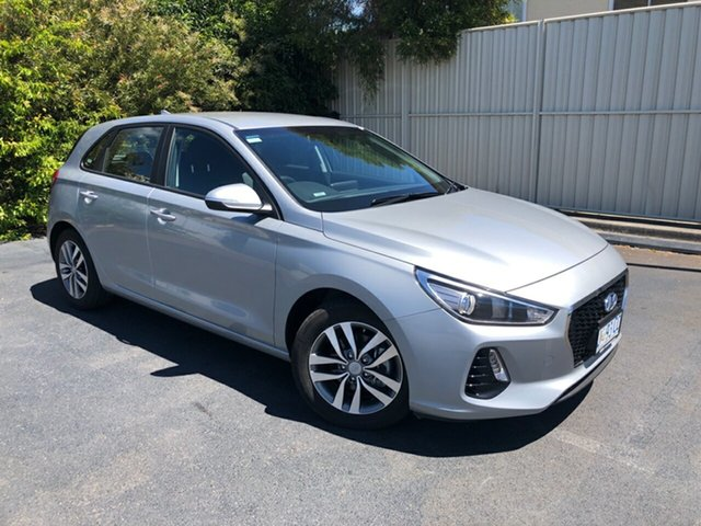 Used Hyundai i30 PD2 MY19 Active Devonport, 2019 Hyundai i30 PD2 MY19 Active Typhoon Silver 6 Speed Sports Automatic Hatchback