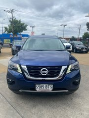 2017 Nissan Pathfinder R52 Series II MY17 ST-L X-tronic 2WD Blue 1 Speed Constant Variable Wagon.