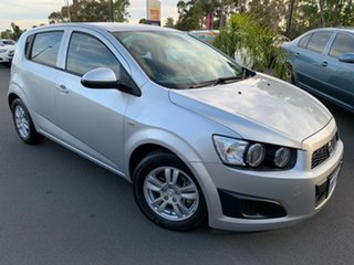 2012 Holden Barina TM Silver 6 Speed Automatic Hatchback.