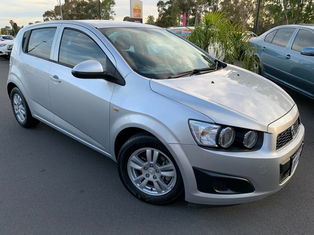 Used Holden Barina TM Bunbury, 2012 Holden Barina TM Silver 6 Speed Automatic Hatchback