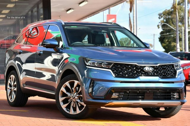 New Kia Sorento MQ4 MY21 GT-Line AWD Echuca, 2020 Kia Sorento MQ4 MY21 GT-Line AWD Gravity Blue 8 Speed Sports Automatic Dual Clutch Wagon