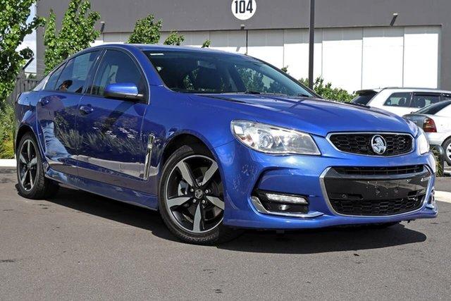 Used Holden Commodore VF II MY17 SS Essendon Fields, 2017 Holden Commodore VF II MY17 SS Blue 6 Speed Sports Automatic Sedan