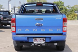 2018 Ford Ranger PX MkII 2018.00MY XLS Double Cab Blue 6 Speed Sports Automatic Utility