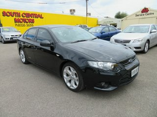 2012 Ford Falcon FG Upgrade XR6 Silver 6 Speed Auto Seq Sportshift Sedan.