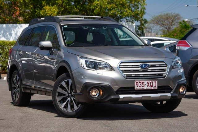 Used Subaru Outback B6A MY18 3.6R CVT AWD Mount Gravatt, 2017 Subaru Outback B6A MY18 3.6R CVT AWD Tungsten 6 Speed Constant Variable Wagon