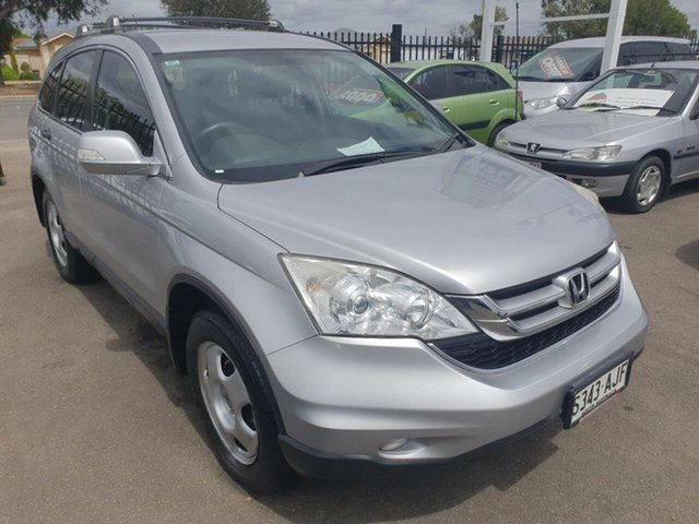 Used Honda CR-V RE MY2010 4WD Morphett Vale, 2010 Honda CR-V RE MY2010 4WD Silver 5 Speed Automatic Wagon