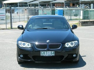 2011 BMW 335i E93 MY11 M Sport Black 7 Speed Auto Direct Shift Convertible.