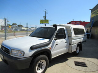 2000 Mazda Bravo B2500 DX White 5 Speed Manual Utility.