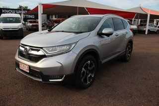 2018 Honda CR-V RW MY18 VTi-LX 4WD Premium Silver 1 Speed Continuous Variable Wagon.