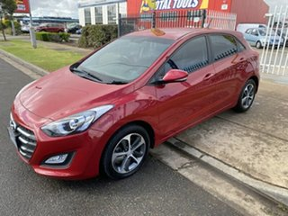 2015 Hyundai i30 GD3 Series II MY16 Active X Brilliant Red 6 Speed Sports Automatic Hatchback