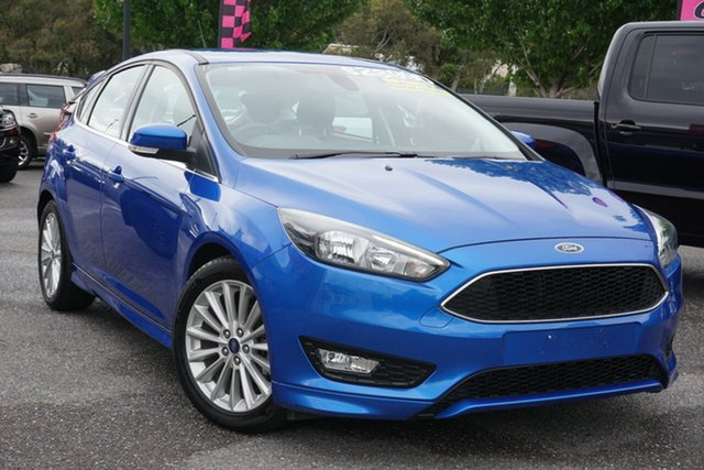 Used Ford Focus LZ Sport Phillip, 2018 Ford Focus LZ Sport Blue 6 Speed Automatic Hatchback
