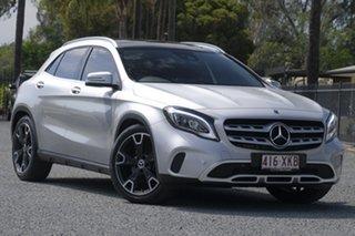 2017 Mercedes-Benz GLA-Class X156 807MY GLA250 DCT 4MATIC Silver 7 Speed.