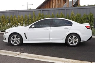2016 Holden Commodore White Sedan.