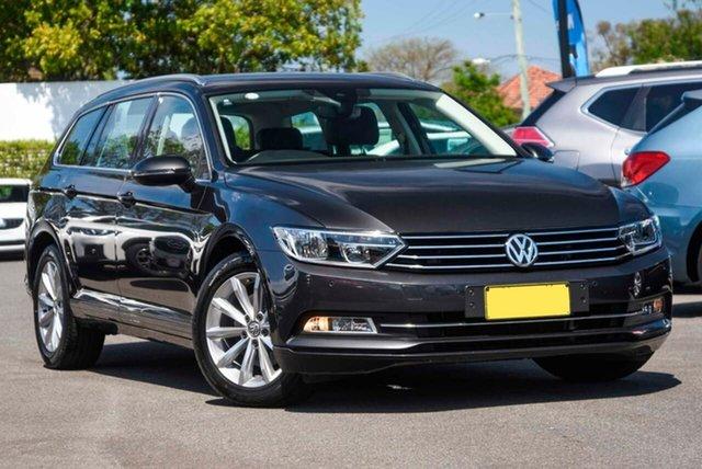 Used Volkswagen Passat 3C (B8) MY18 132TSI DSG Comfortline Mount Gravatt, 2018 Volkswagen Passat 3C (B8) MY18 132TSI DSG Comfortline Grey 7 Speed Sports Automatic Dual Clutch
