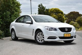 2015 Holden Commodore VF II MY16 Evoke White 6 Speed Sports Automatic Sedan.