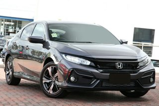 2020 Honda Civic 10th Gen MY20 VTi-LX Modern Steel 1 Speed Constant Variable Hatchback.