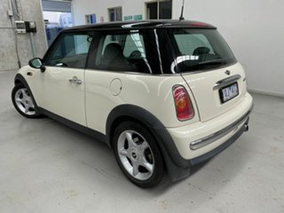 2004 Mini Hatch R50 MY05 Cooper White 5 Speed Manual Hatchback