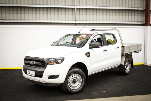 Used Ford Ranger PX MkII XL Hi-Rider Canning Vale, 2017 Ford Ranger PX MkII XL Hi-Rider White 6 Speed Sports Automatic Cab Chassis