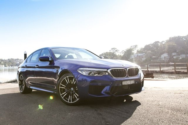 Used BMW M5 F90 Launch Edition M Steptronic M xDrive Sutherland, 2018 BMW M5 F90 Launch Edition M Steptronic M xDrive Blue 8 Speed Sports Automatic Sedan