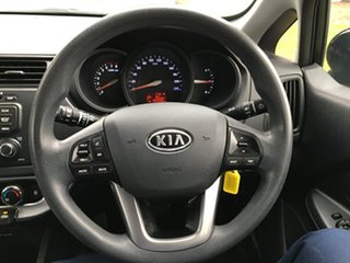 2011 Kia Rio UB MY12 S Black/Grey 4 Speed Sports Automatic Hatchback