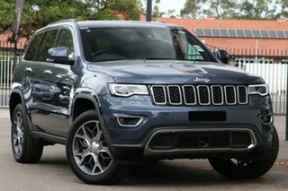 2020 Jeep Grand Cherokee WK MY20 Limited Slate Blue 8 Speed Sports Automatic Wagon.
