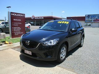 2013 Mazda CX-5 KE1071 Maxx SKYACTIV-Drive Black 6 Speed Sports Automatic Wagon.