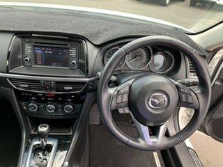 2013 Mazda 6 GJ1031 Touring SKYACTIV-Drive White 6 Speed Sports Automatic Wagon