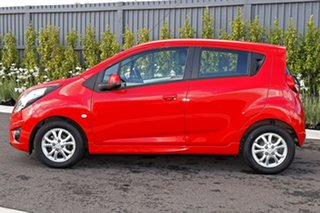 2014 Holden Barina Spark Red Hatchback.