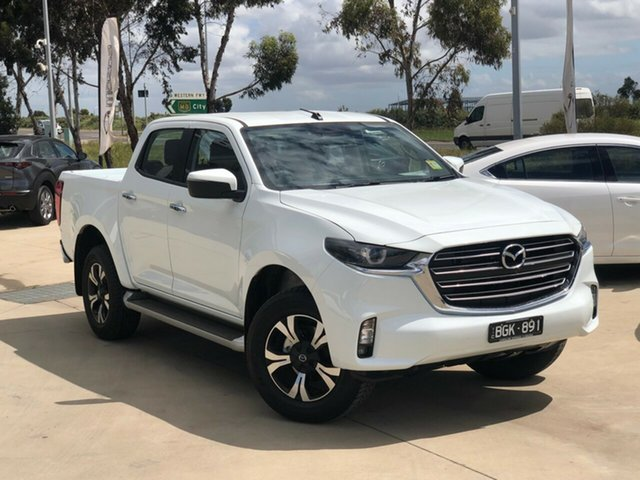 Demo Mazda BT-50 TFS40J XTR Ravenhall, 2020 Mazda BT-50 TFS40J XTR Ice White 6 Speed Manual Utility