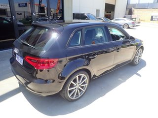 2015 Audi A3 8V MY16 Ambition S Tronic Black Magic 7 Speed Sports Automatic Dual Clutch Sedan