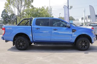2018 Ford Ranger PX MkII 2018.00MY XLS Double Cab Blue 6 Speed Sports Automatic Utility.