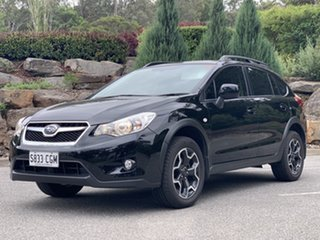 2012 Subaru XV G4X MY12 2.0i Lineartronic AWD Black 6 Speed Constant Variable Wagon.