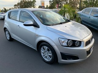 2012 Holden Barina TM Silver 6 Speed Automatic Hatchback