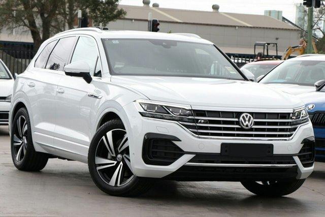 New Volkswagen Touareg MY20 190TDI Premium Liverpool, 2020 Volkswagen Touareg CR74P3P/20 190TDI Premium Pure White 8 Speed Automatic Wagon
