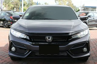 2020 Honda Civic 10th Gen MY20 VTi-LX Modern Steel 1 Speed Constant Variable Hatchback
