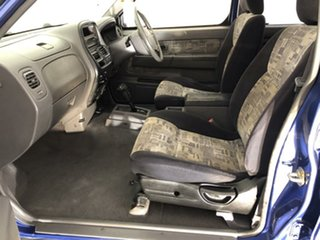 2000 Nissan Navara D22 S3 ST 4x2 Blue 4 Speed Automatic Utility.