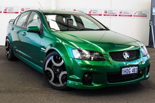 2011 Holden Commodore VE II SS Green 6 Speed Manual Sedan.