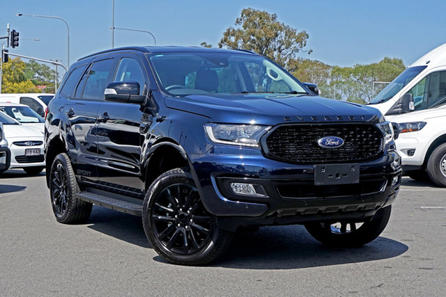 Used Ford Everest UA II 2020.25MY Sport Ebbw Vale, 2019 Ford Everest UA II 2020.25MY Sport Blue 10 Speed Sports Automatic SUV
