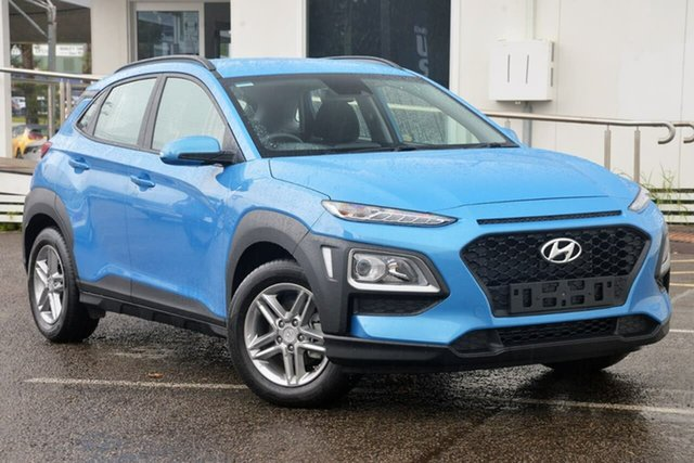 Used Hyundai Kona OS.2 MY19 Active 2WD North Gosford, 2019 Hyundai Kona OS.2 MY19 Active 2WD Blue 6 Speed Sports Automatic Wagon
