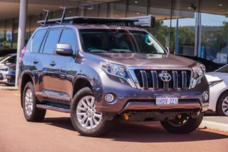 2017 Toyota Landcruiser Prado GDJ150R Altitude Grey 6 Speed Sports Automatic Wagon.